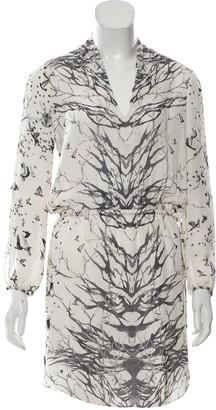 Haute Hippie White Silk Dress for Women