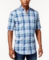 Club Room Men's Plaid Shirt, Only at Macy's