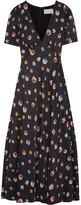 Christopher Kane Printed Crepe De Chine Maxi Dress - IT40