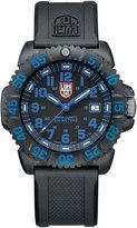 Luminox 44mm Navy SEAL 3050 Series Colormark Watch, Blue
