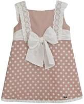 Dolce Petit Chocolate Polkadot Dress