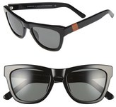 Westward Leaning Women's 'Pioneer' 53Mm Sunglasses - Black Shiny/ Standard Grey