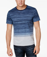 INC International Concepts Men's Ombré Striped T-Shirt, Only at Macy's