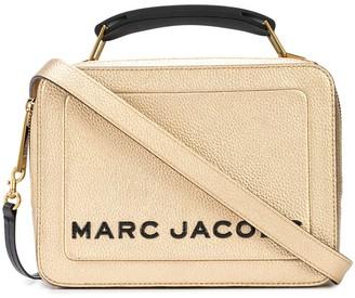 Marc Jacobs The Metallic Textured Box 23 bag