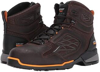 Ariat Rebar Flex 6 Composite Toe (Chocolate Brown) Men's Lace-up Boots