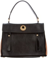 two-tone 'muse' bag