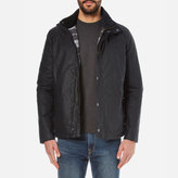 Barbour Men's Hilton Wax Jacket Navy