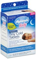 Hyland's Baby 125-Count Nighttime Tiny Cold Tablets