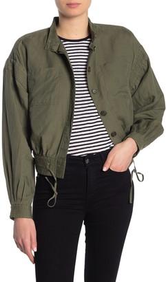 Frame Military Linen Blend Jacket