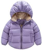 JELEUON Toddler Baby Boys Girls Puffer Cotton-padded Coat Jacket Kids Clothes M