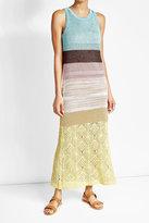 Missoni Crochet Knit Maxi Dress