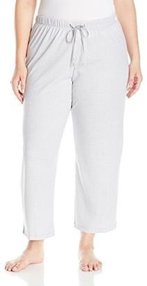 Karen Neuburger Women's Plus Size Basics Long Pant