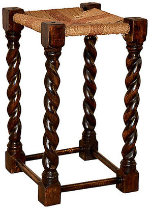One Kings Lane Vintage 19th-C. English Tall Stool - Black Sheep Antiques