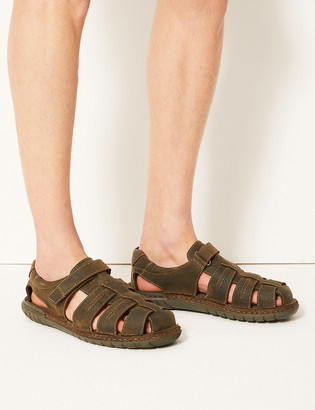 Marks and Spencer Leather Fisherman Riptape Sandals