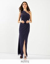 Lipsy Petite One Shoulder Maxi Dress