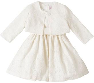 Il Gufo Macrame Lace Dress & Bolero