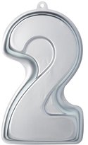 Kitchen Craft Sweetly Does It Novelty Number '2' Cake Tin (Two), 30 x 18.5 x 5 cm