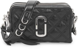 Marc Jacobs The Snapshot Quilted Leather Camera Bag