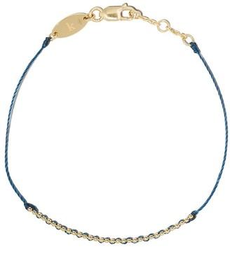 Redline 18kt yellow gold Eclipse string bracelet