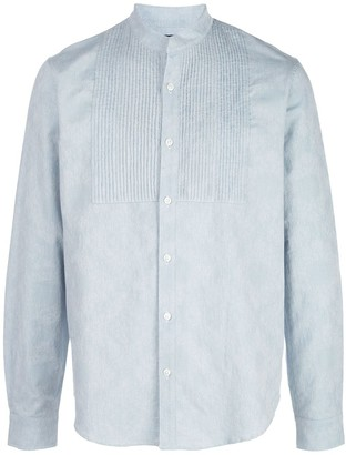 Amiri Long Sleeved Tuxedo Shirt