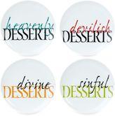Fitz & Floyd Color Dessert Plates (Set of 4)