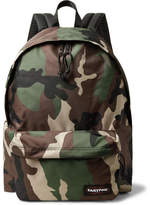 Eastpak Padded Pak'r XL Camouflage Canvas Backpack