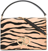 DSQUARED2 DD zebra print bag - women - Leather/Calf Hair - One Size