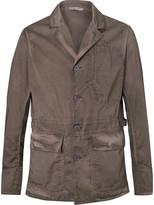 Bottega Veneta - Garment-dyed Cotton Blazer