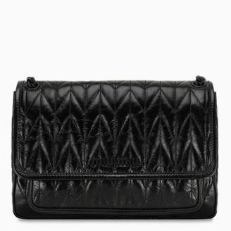 Miu Miu Black shine leather bag