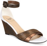 Impo Vandy Two-Piece Wedge Sandals Women's Shoes