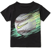 Nike Little Boys 2T-7 Baseball Line Short-Sleeve Tee