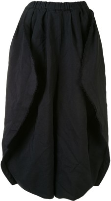 Comme des Garcons Oversized Cropped Trousers