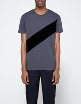 Han Kjobenhavn Block Tee Grey/Black Stripe