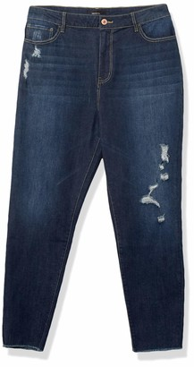 Forever 21 Women's Plus Size Distressed Skinny Jeans