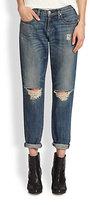 Rag and Bone Boyfriend Distressed Jeans
