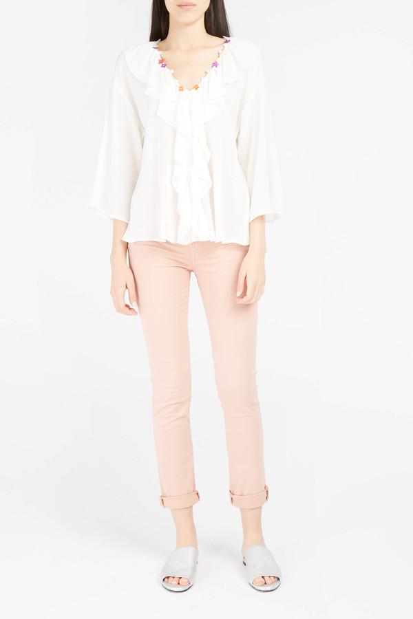 Paul & Joe Silk Skinny Jeans