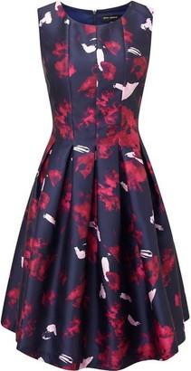 James Lakeland Print Sleeveless Dress