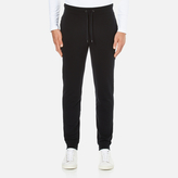 Michael Kors Men's Stretch Fleece Cuffed Sweatpants Black