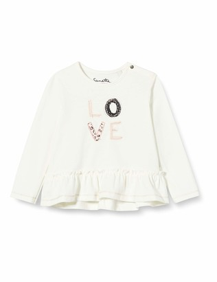 Sanetta Baby_Girl's Ivory Toddler T-Shirt Set
