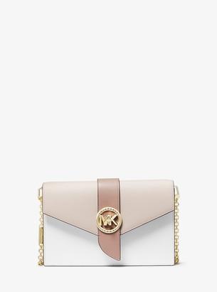 MICHAEL Michael Kors Medium Color-Block Leather Crossbody Bag