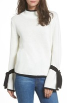 BP Women's Tie Sleeve Sweater