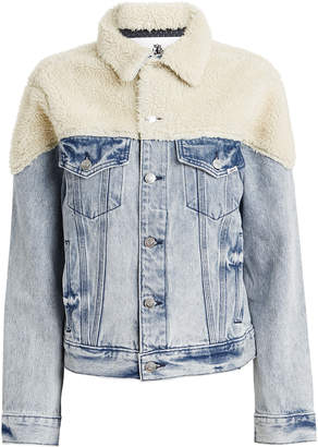 Jordache Sherpa Denim Jacket