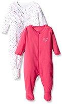 Name It Baby Girls NITNIGHTSUIT ZIP W/F NB G NOOS Sleepsuit