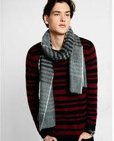 Express stripe crew neck sweater