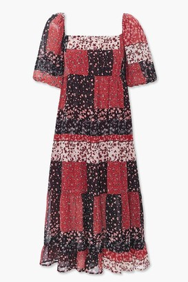 Forever 21 Ditsy Floral Midi Dress