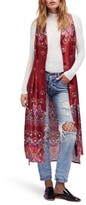 Free People Women's Come See About Me Maxi Vest