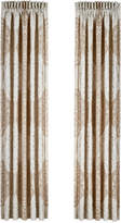 "J Queen New York La Scala 84"" x 100"" Pair of Window Panels"