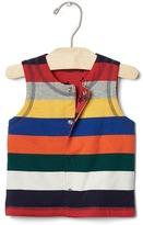 Gap Bright stripe reversible vest