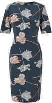Jigsaw Dancing Tulip Fitted Dress
