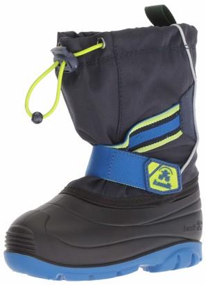 Kamik baby-boys' ZIGGYWIDE Snow Boot